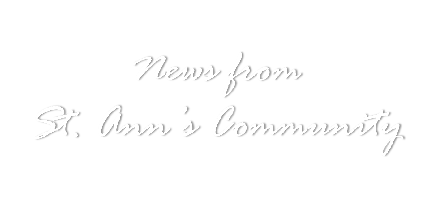 News from St Anns Community